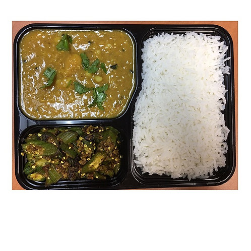 Vegetable Curry Meal