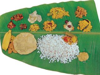 Vishu Sadya - Sat & Sun April 13 & 14 - 12 pm to 3 pm