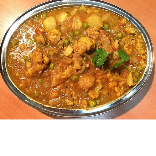 Vegetable Curry - 10 people