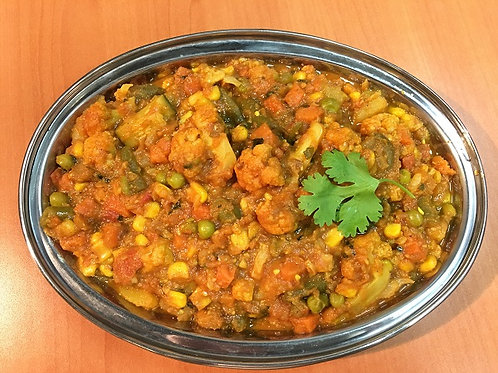 Mixed Veg Curry - 15 people