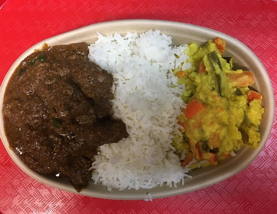 Lamb Curry Meal $10.50