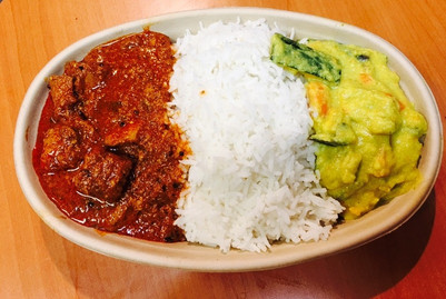 Salmon Curry Meal $ 11.00