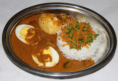 Egg Curry Meal $ 9.00