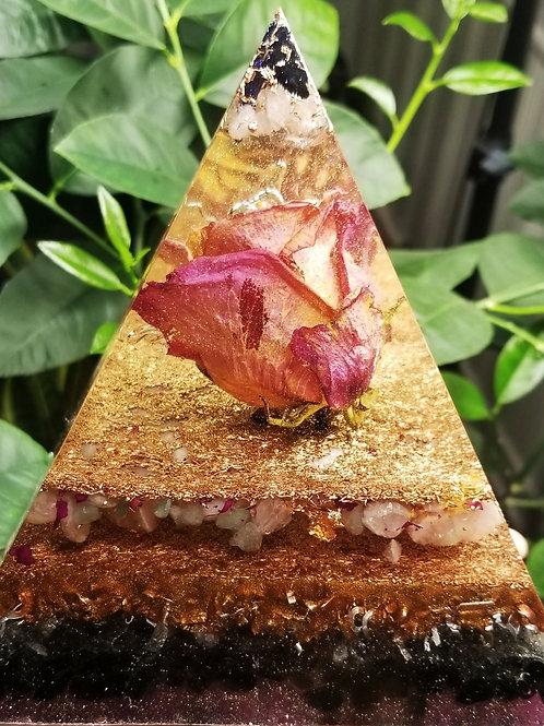 Blue Goldstone, Quartz,  Rose Quartz, Rose, Green Aventurine,  Obsidian