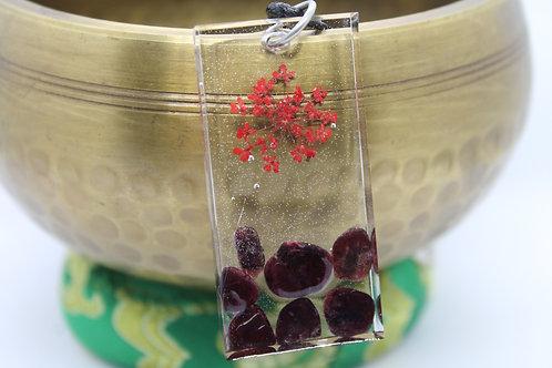 Red Flower & Garnet