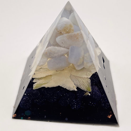 Blue Chalcedony & Blue Goldstone Mini