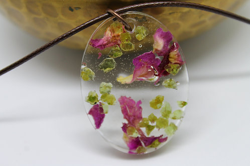 Peridot and Rose Petals