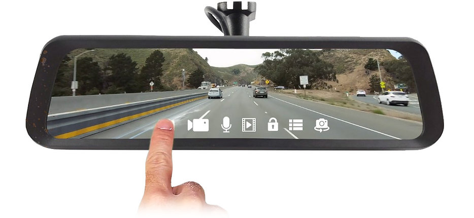 BrandMotion FullVUE Rear Camera Mirror