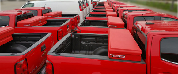 Custom painted tool boxes