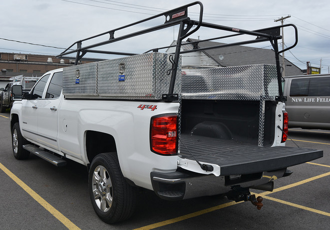 Ladder rack and tool boxes (2)