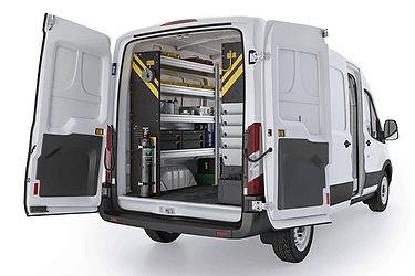 Ranger Design Van Shelving