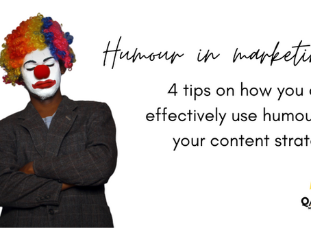 Humour and marketing: Using humour as an emotional appeal in your content marketing strategy