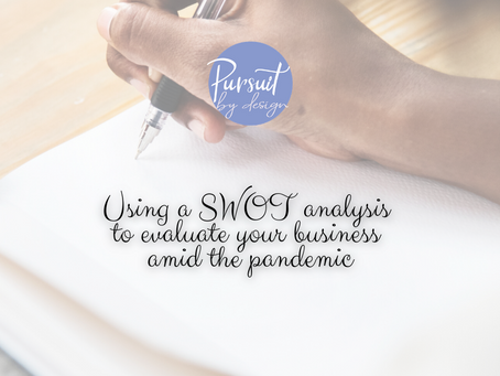 USING A SWOT ANALYSIS TO EVALUATE YOUR BUSINESS AMID COVID-19