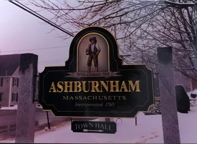 Custom Design Town Sign Massachusett