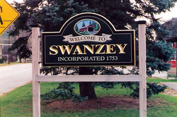 Town Sign Swanzey NH