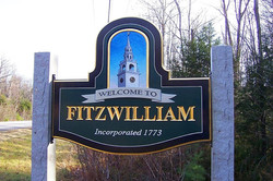 Town Welcome Pictorial Sign