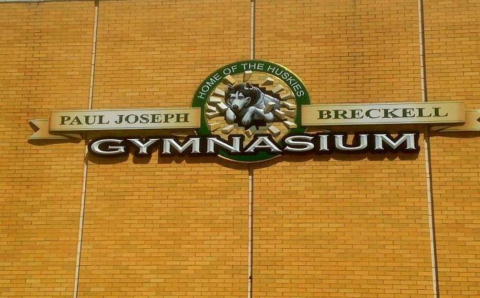 Municipal School Sign Swanzey NH