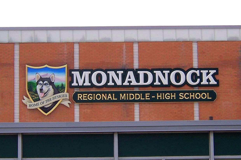 Custom School Sign NH