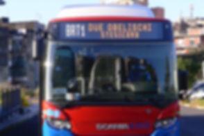BRT - Bus Veloce fra l'Hub Due Obelischi e Piazza Stesicoro