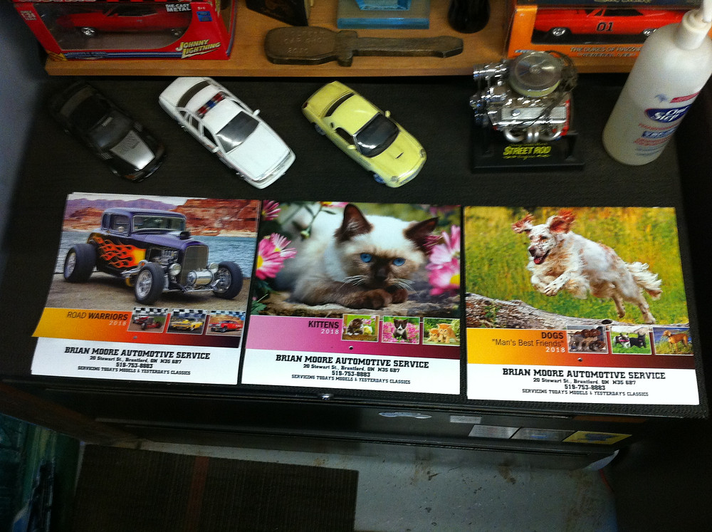 The 2018 Calenders are in, Why not come in and get yours before they are all gone