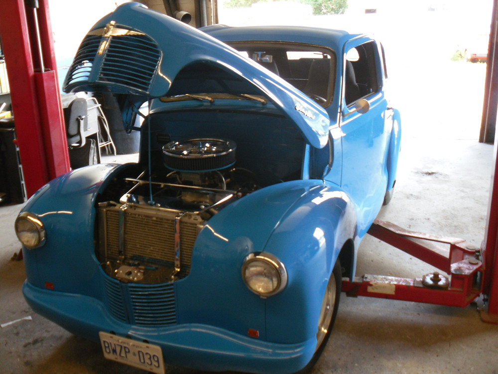 Brad's 50 Austin is one of the nastiest cars we have worked on in a while