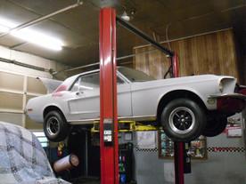 Update - 68 Mustang