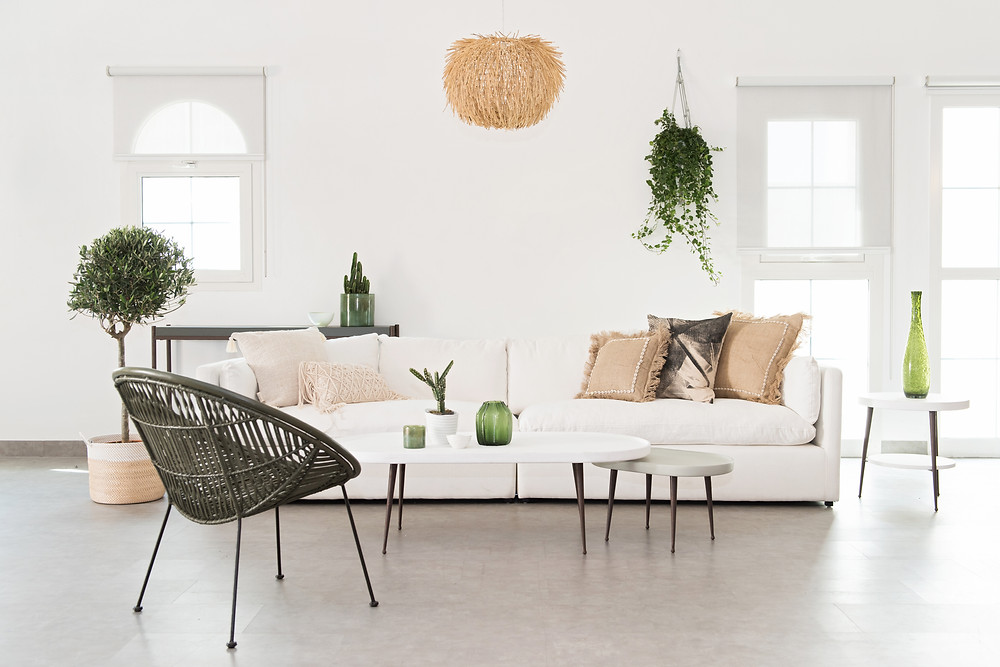 Look 1 – Dining  White Moss: Raffia Island Pendant | Island Breeze Natural Dining Chairs | Mono Chevron Wall Hanging Look 2 – Home & Soul Set Up  No White Moss featured Look 3 – Dining Set Up  White Moss: Circle of Life Rattan Chair Look 4 – Minty White Moss : Bali Bowl Chair | Phoenix Macrame Wall Hanging | Chevron Rattan Pendant | Belly basket – Hint of MintLook 5 – Noches De Sevilla White Moss: Monochrome Sun Tribal Plate | Monty Diamond rattan chair | Borneo Tribal BasketLook 6 - Olive Tree  White Moss: Neptune Rattan Pendant  and all accessories and furniture from Home and Soul