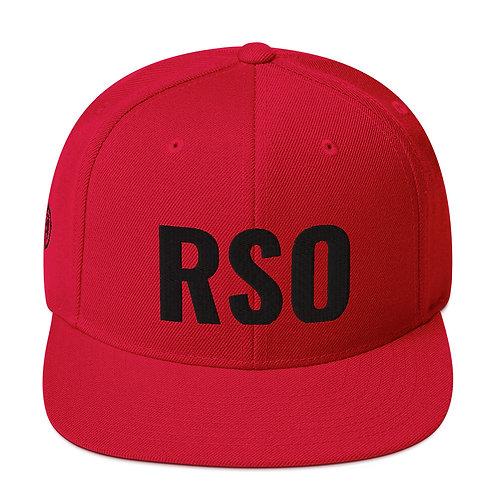 RSO Snapback, Flat Brim Hat