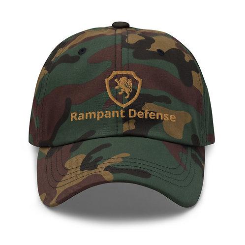 US Woodland camo hat w/logo