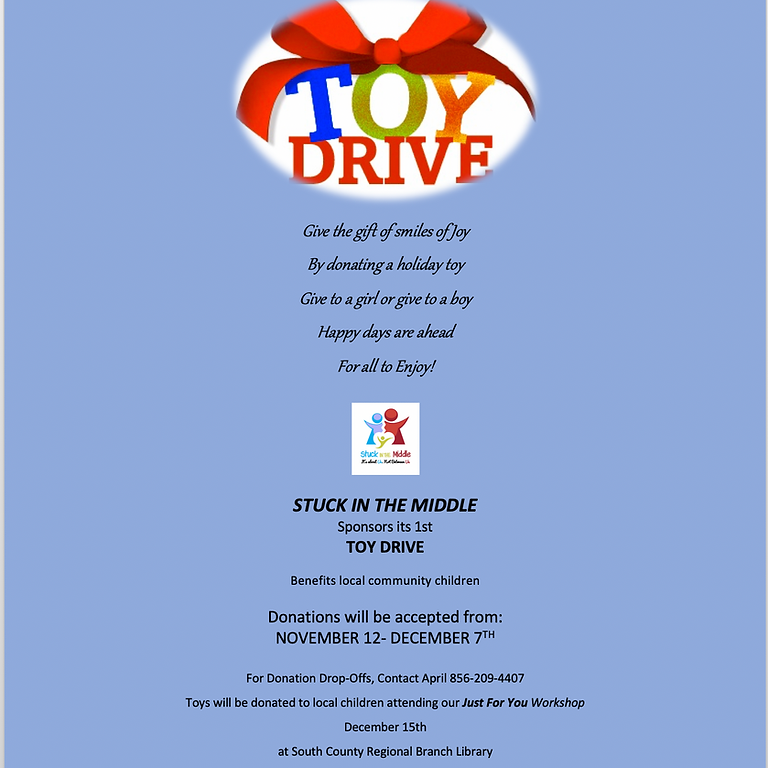 Stuck In The Middle's Toy Drive