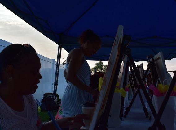 Paint-N-Sip/BackYard Mixer 2019