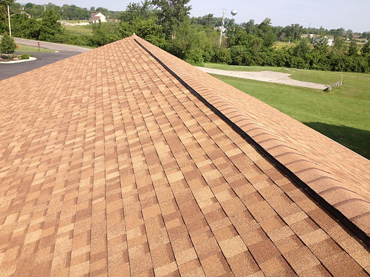 Awesome Shingle Roof Complete