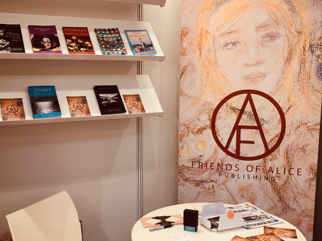Friends of Alice Publishing at the London Book Fair 2019