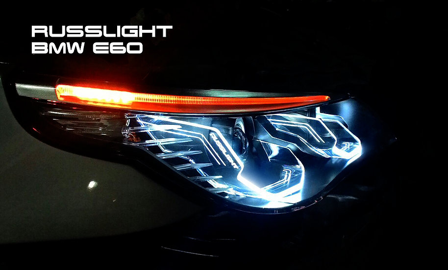 Russlight E60 Led Headlights Bmw M5 Forum And M6 Forums