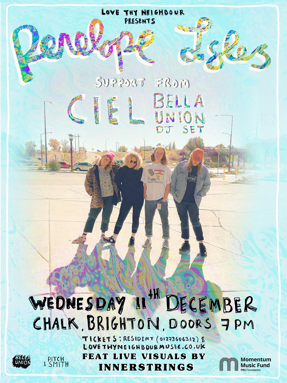 Penelope Isles - Chalk, Brighton - 11-12-19