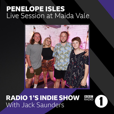 Penelope Isles live from Maida Vale
