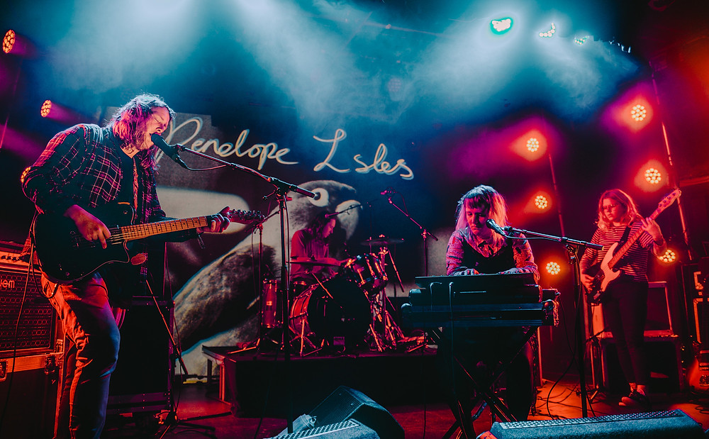Penelope Isles at Eurosonic 2019. Pic by Jack Parker