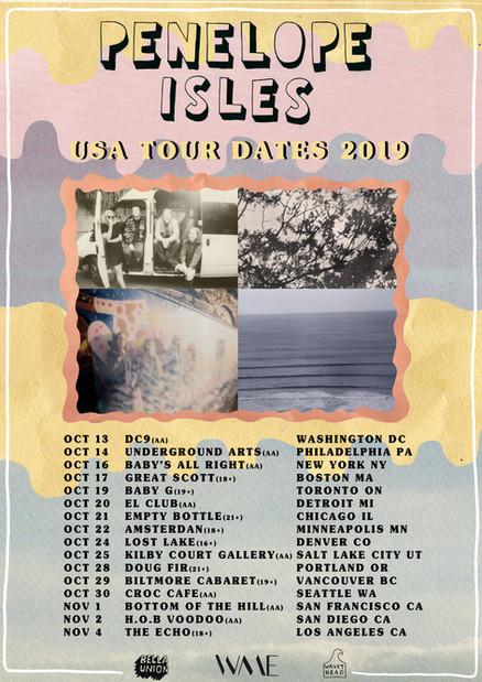 USA Tour Dates!