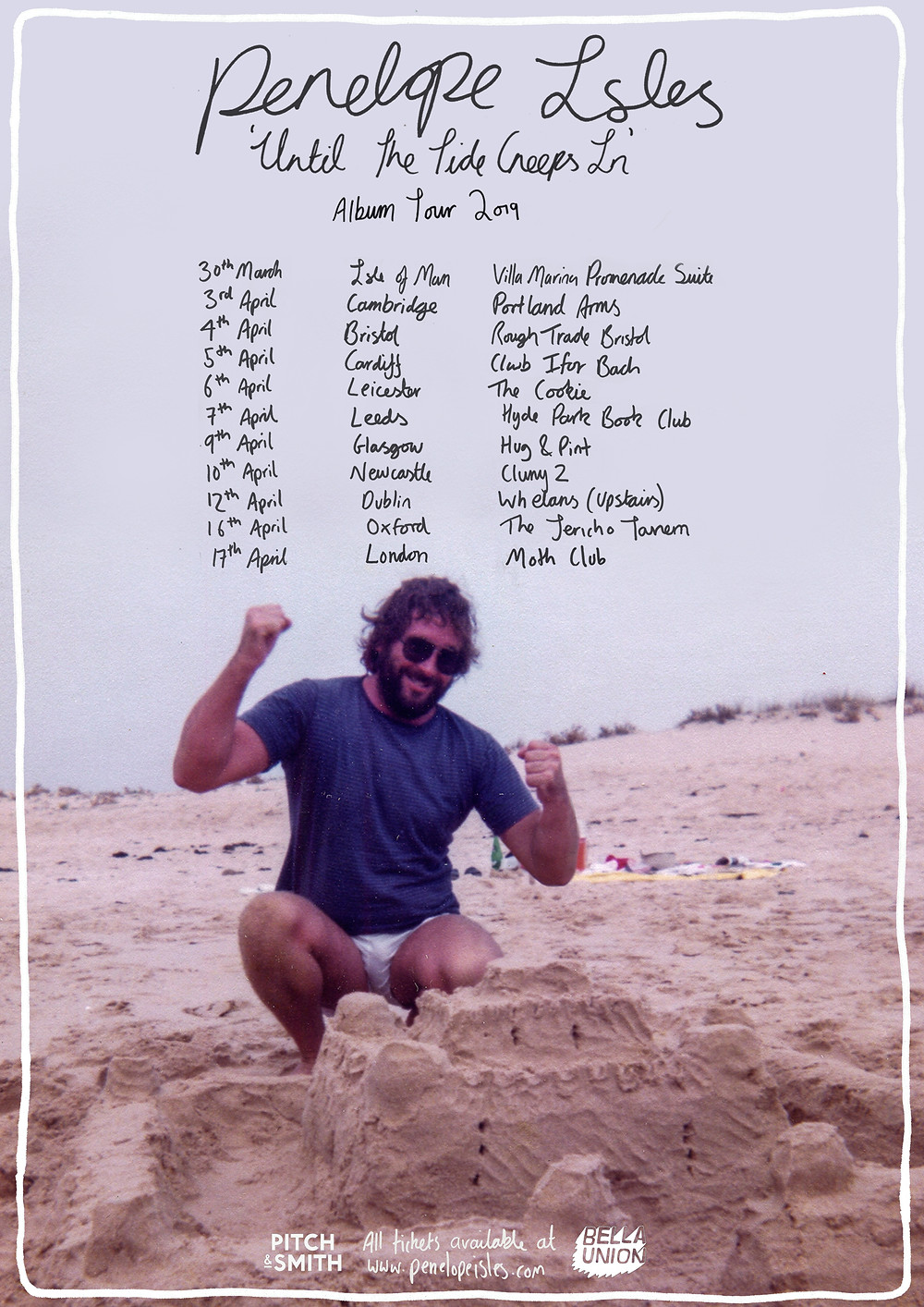 'Until The Tide Creeps In' tour