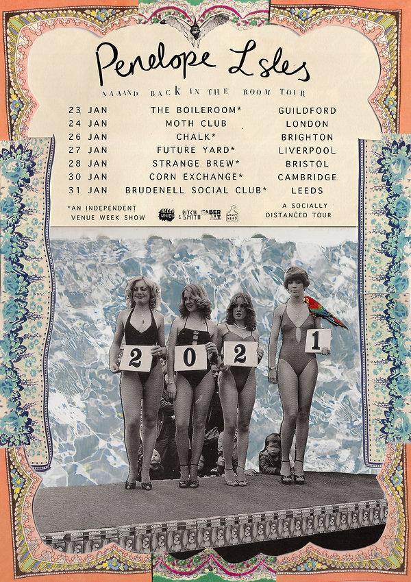 Penelope Isles 2021 Tour Dates
