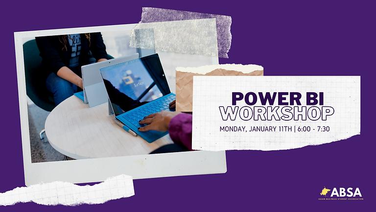 Microsoft Power BI Workshop