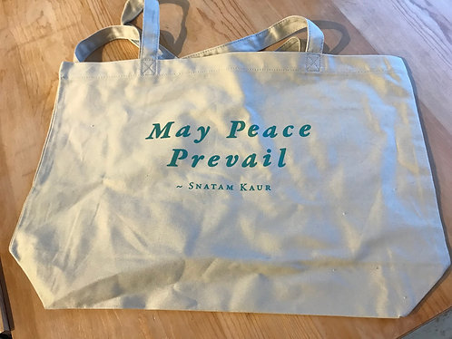 May Peace Prevail Twill Tote Bag