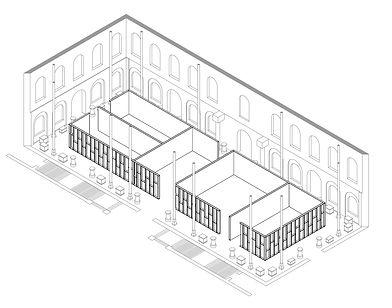 Salles pour le Palais des études 2020