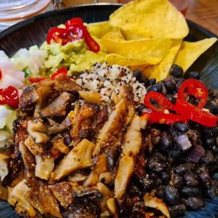 BBQ Mushroom Steak Taco Bowl