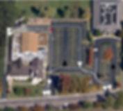 West Building Drop Off Pick Up Map