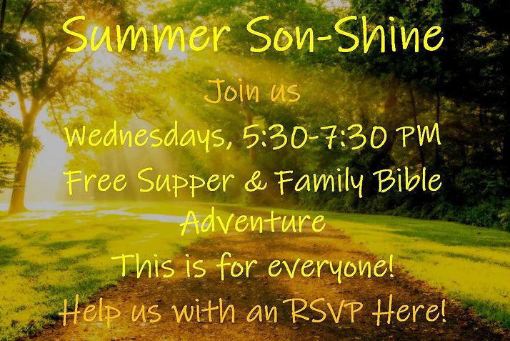 Summer Son-Shine new slide June 2021 Chu