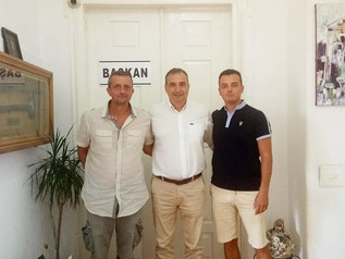 Rahmi Gençer'i ziyaret