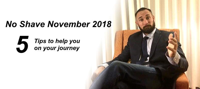 No Shave November 2018