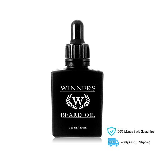 WINNERS Elite Beard Oil (Caffeinated)
