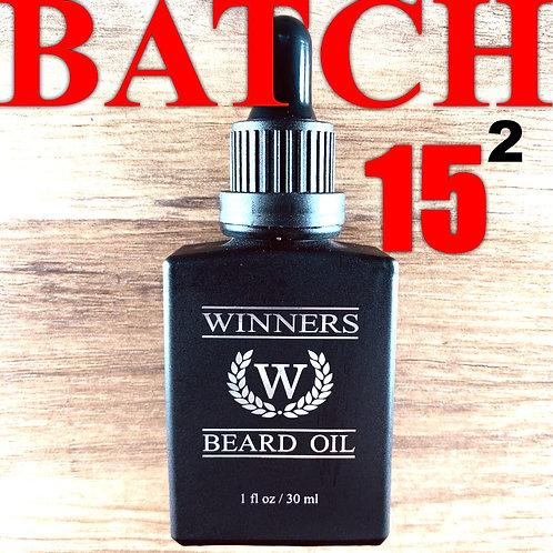 WINNERS Batch 15 Beard Oil (2x Caffeine)